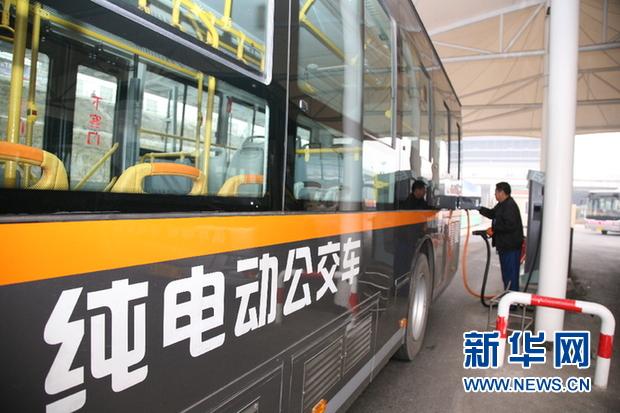 全国前列全省首家!临汾市区公交车全换了纯电动