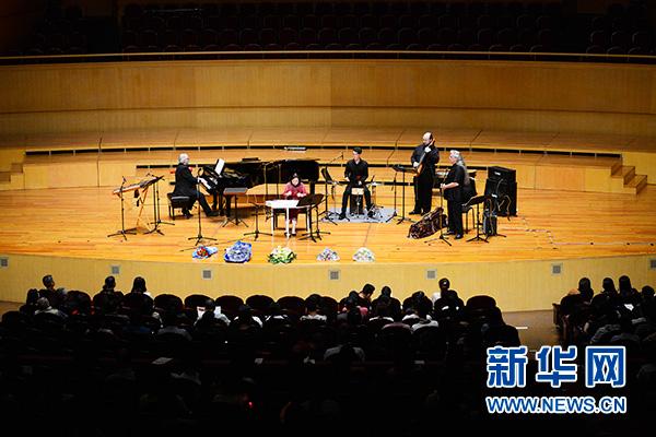 """""""新丝路探索者""""乐队来汉 中美音乐家共奏《二泉听月》"""